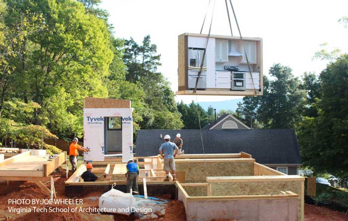 More Home Builders Turning to Prefab Construction