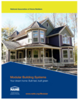 New Modular Homes Brochure Available From NAHB