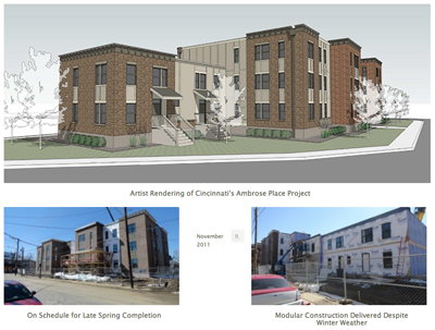 Ambrose Place: Unibilt Partners on Cincinnati Modular Construction Housing Project